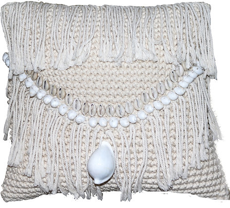 Barbuda Macrame Gaab Cushion
