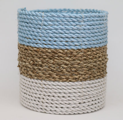 Small Light Blue Basket