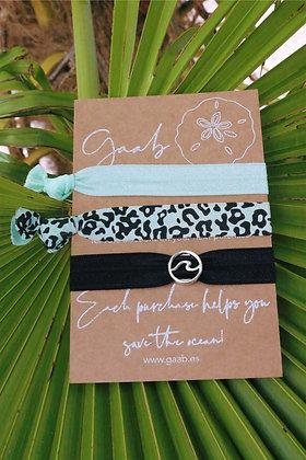 Panther Wave Gaab Bracelet & Hairband Set