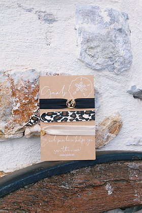 Sandy Tiger Bracelet & Hairband Set