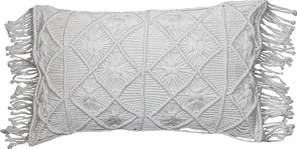 Flamingo Gaab Macramé Cushion