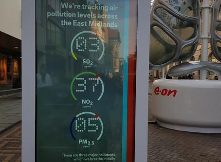 E.ON's Clean Air Campaign comes to Nottingham.