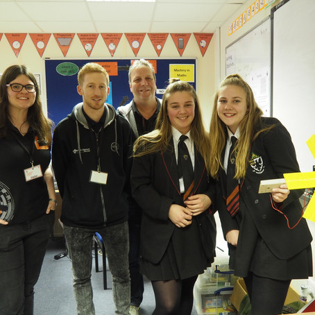 STEM careers day at Humphrey Perkins school