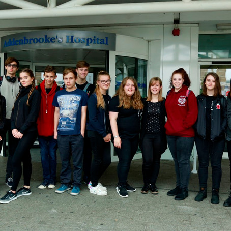 NCS Social Action is brought to Addenbrooke's Hospital