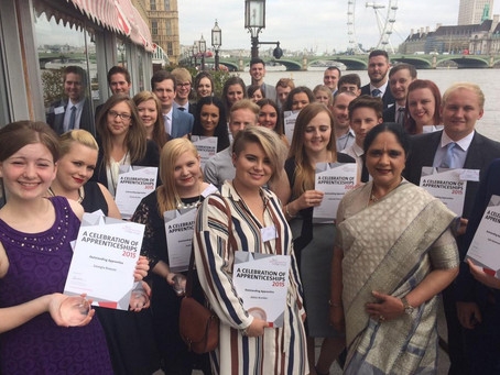 House of Lords celebration for star apprentice