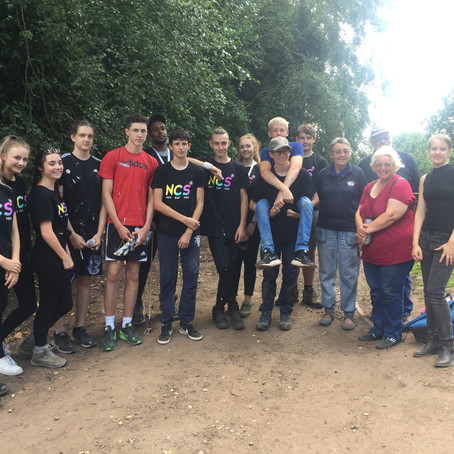Lichfield NCS partner with Lichfield & Hatherton Canals Restoration Trust for Social Action Project