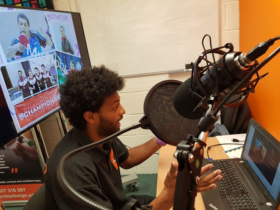 Jared delivering Virtual LIVE stream 2.j