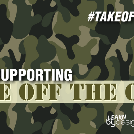 We support #TakeOffTheCamo as part of 2019 Social Action Day