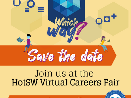 """Which Way?"" South West Virtual Careers Fair - SAVE THE DATE!"