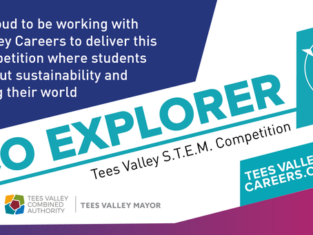 STEM competition designed on behalf of Tees Valley Careers is promoting sustainability.