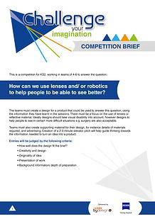 Challenge your imagination COMPETITION B