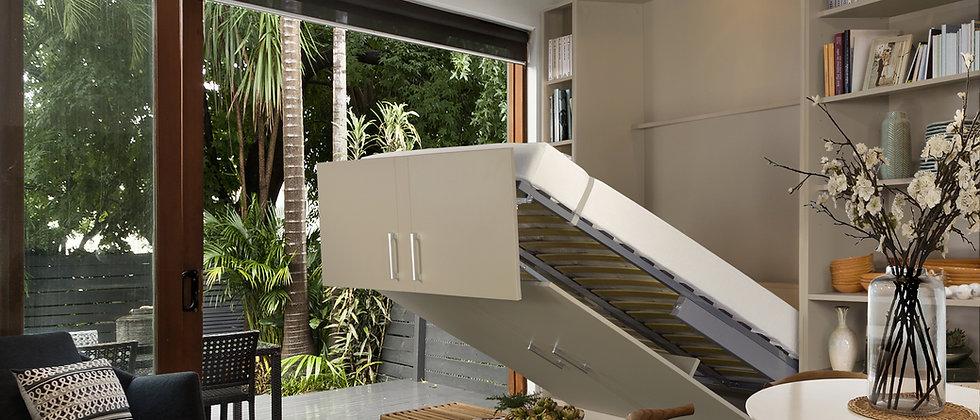 Lit escamotable MELA vertical couchage 140*190 cm