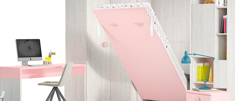 Lit escamotable NEO vertical couchage 90*190 cm