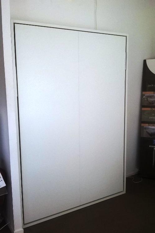 Lit Escamotable 140 cm CONTRACT BLANC
