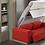 Thumbnail: Lit escamotable KETIAM Pullman vertical avec canapé couchage 140*200 cm