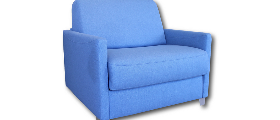 Fauteuil convertible TINO couchage quotidien 70*190 cm