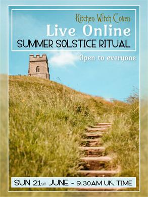 Live Online Summer Solstice Ritual