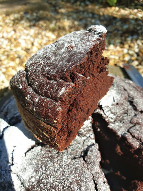 Chocolate Cake - egg & butter free