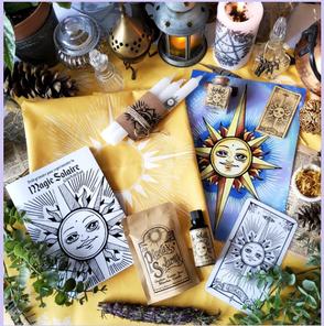 Boîtes magiques Lune & Soleil sur WildFolkSoul