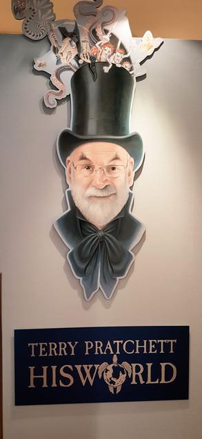 Terry Pratchett: His World