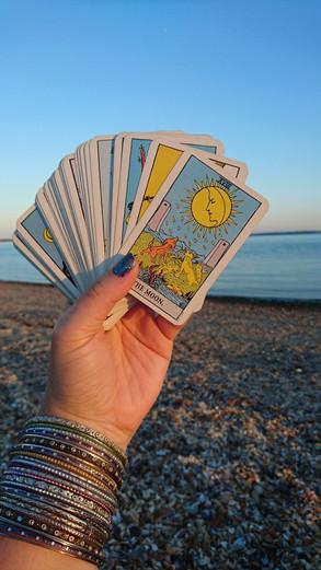 Tarot by the sea...