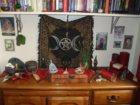 A witch's tools of the trade