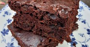 Chocolate courgette/zucchini cake (vegan)