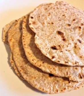 Homemade tortillas/wraps