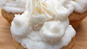 Coconut cupcakes (vegan)
