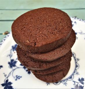 Spiced Chocolate Slice Cookies
