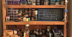 A Witch's Herbal Dresser