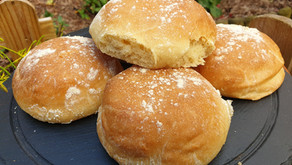 Barm Cakes (bread rolls)