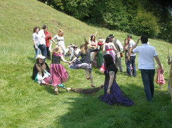 Handfasting, The Tor - June 2011
