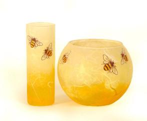 Review: Bee-utiful glassware from KarenKeirStrawsilk
