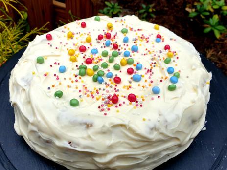 Gluten Free Vanilla Sponge Cake