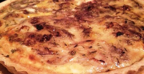 Onion and Feta Quiche