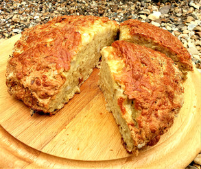 Cheese and Onion Soda Bread