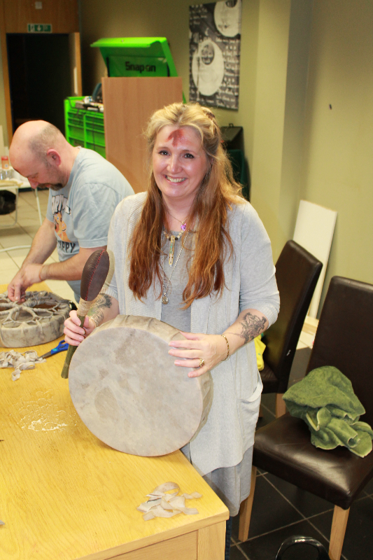 rachel patterson drum making