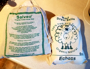Review: Eco soap nuts & tumble dryer balls