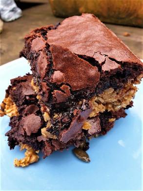 Chocolate Brownie Flapjack