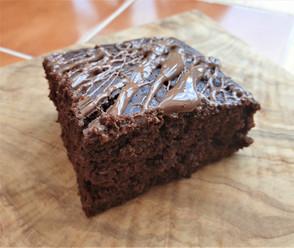 Double chocolate tray bake