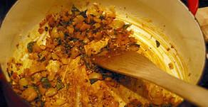 Chickpea & Sweet Potato Curry