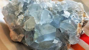 Blue Celestite Crystal