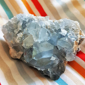 Blue Celestite Crystal