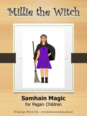 Millie the Witch - Samhain for Pagan Children