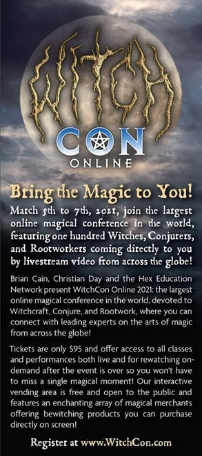 Presenting at WitchCon