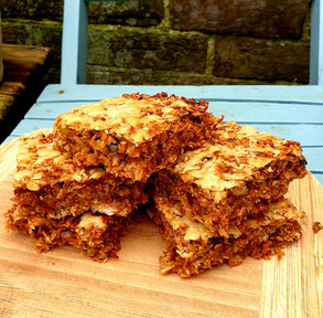 Cheese & Marmite Flapjacks