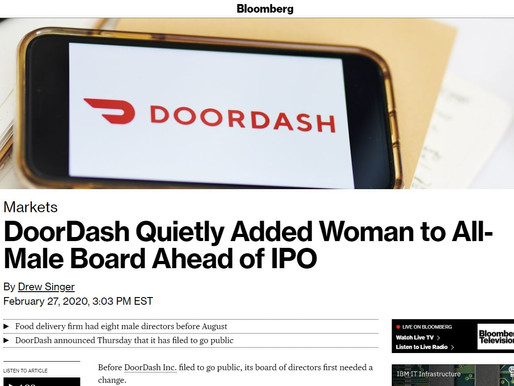 Shona Brown quietly joined DoorDash board of directors