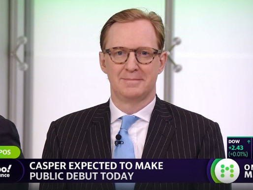 """Casper's IPO is a terrific outcome for everybody"" - Rett Wallace"