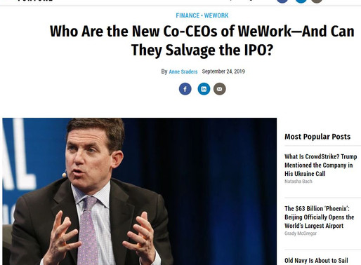 WeWork's new co-CEOs